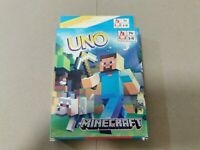 UNO playing cards game MINECRAFT - FAMILLY CARD BOARD GAME - FREE SHIPPING