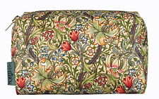 Morris & Co.. Golden Lily Cosmetics Bag-Heathcote & Ivory