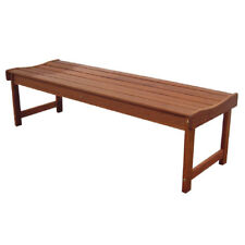 NEW Merbau Backless Bench 1200 Outdoor $0 - $899