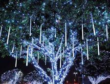 """31.5"""" LED 10 Tubes meteor shower Shooting Star Tree Decor String Lights White"""