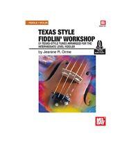 MEL BAY 20315M Texas Style Fiddlin' Workshop (Book + Online Audio) by Jeanine R.
