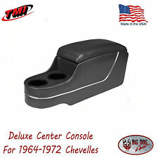 Black Deluxe Console for 1964 1972 Chevelle by TMI - In Stock - Ships Now