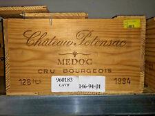 1994 Château Potensac 26 JAHRE ALT - Médoc Bordeaux Rotwein Frankreich 0,75 l.
