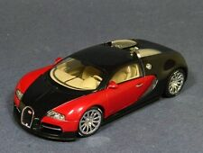 Eb16.4 Bugatti Veyron 2009 BLACK-RED 50901 Autoart 1:43 NEW!