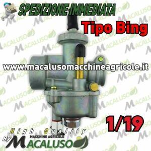 Carburatore tipo Bing 1/19 motore Jlo brumi beta pasbo attacco mm.25 motozappa