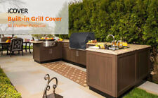 Icover 32in Built-in Heavy Duty Grill Cover With Air Vent (Free Ship)