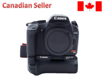 Canon EOS Rebel T1i / 500D Digital SLR Camera Body only with Battery Grip BG-E5