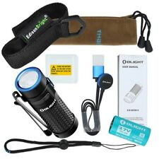 Olight  S1R II 1000 lumen magnetic rechargeable LED flashlight with holster