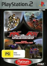 MX Vs ATV Unleashed for Playstation 2 (2005, PAL)