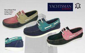 Ladies Seafarer Yachtsman Deck Shoes  FREE POST Lady Deck Shoes  Boating  BNIB