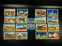 1939 New York World's Fair Postcards ~ Stunning Colors