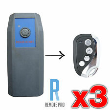 3 x Dominator ADS DOM503 DOM401 Compatible Garage/Gate Remote Duplicator 315mhz