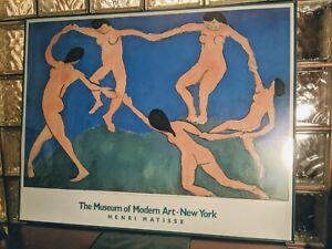 LARGE rare version! 1987 Henri Matisse 'DANCE I' Print MOMA Museum Modern Art