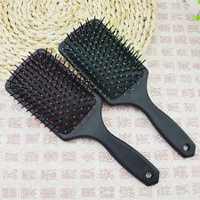 Large Professional Paddle Hairbrush Tangle Cushion Massage Comb Brush S