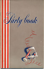 Laird Distillery - 1941 Party Book - 40 pages, drinks, horoscopes, brain teasers