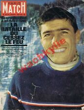 Paris Match n°672 du 24/02/1962 Charles Bozon ski Gordousntown Alger République