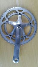 Classic: Campagnolo Croce d'Aune RIGHT HAND crank: 172.5mm and chainrings: 52/39