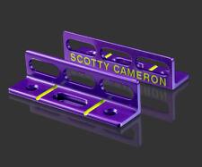 2018 Scotty Cameron Putting Path Tool Bright Dip Purple Circle T Tour Use CT