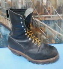 Red Wing 2218  Black Logger Steel Toe EH Size 8 EE