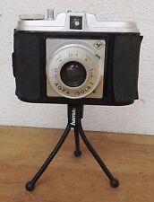 Alte AGFA ISOLA I Rollfilm Kamera mit Harma Stativfuß - Restaurationsobjekt