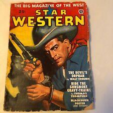 Star Western March 1948 Pulp Magazine