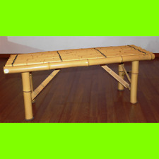 Bench Benches in Real Bamboo 100x38x40