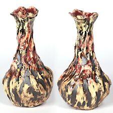 "Skulptur Vase ""Höhle Lascaux"" 17cm v4 Unikat Keramik Andreas Loeschner-Gornau"