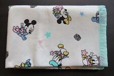 Dundee Vintage Disney Minnie Mickey Blanket Baby Lovey 36 x 45 Made USA Acrylic