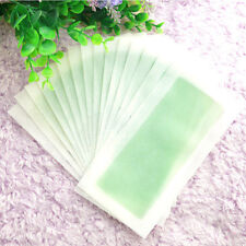 10 Sides Leg Body Hair Removal Depilatory Wax Strips Papers Waxing Nonwoven