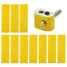 10PCS 2mm thick 3d printer heating block cotton hot end nozzle heat insulation