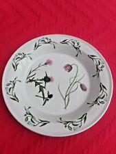 "Portmeirion The Queen's Hidden Garden 10"" Pie Baking Plate Thistle Pattern"