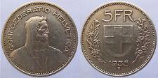 Schweiz 5 Franken 1935 Silber (2)