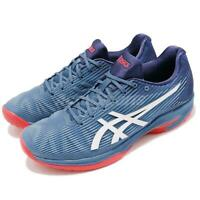 best service 0b376 27955 Asics Solution Speed FF Azure Blue White Men Tennis Shoes Sneakers  1041A00-3400