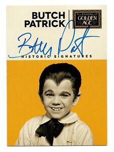 2014 Golden Age Historic Signatures Butch Patrick Werewolf Eddie Munster