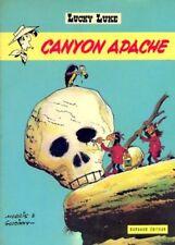 morris goscinny LUCKY LUKE - CANYON APACHE dargaud # 6 ou 37 E.O. 1971
