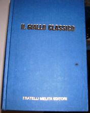 LIBRO IL GIALLO CLASSICO FRATELLI MELITA EDITORE WALLACE 1989