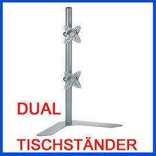 DUAL Tischständer für 2 LED LCD Monitore VESA 75 VESA 100 ACER ASUS SAMSUNG LG