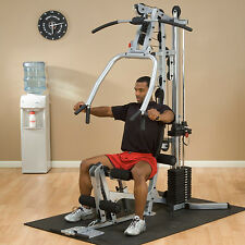 Powerline BSG10X Home Gym by Body-Solid - 90% pre-assembled - real weight stack