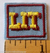 Girl Scout Senior LIT LEADER IN TRAINING AWARD Patch Official Earned Leadership