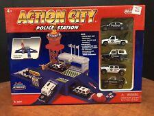 Realtoy Action City Police Station Dela0721