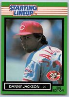 1989  DANNY JACKSON - Kenner Starting Lineup Card - CINCINNATI REDS