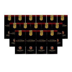 Organo Gold Café Negro Black Coffee Ganoderma Instantáneo Reishi Envío Gratis
