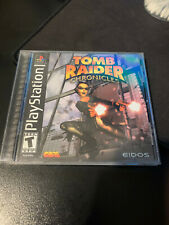 Tomb Raider: Chronicles (Sony PlayStation 1, 2000) Ps1 Black Label Complete