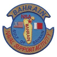USN NAVY NAVAL SUPPORT ACTIVITY NSA BAHRAIN GULF OF BAHRAIN PATCH VETERAN SAILOR