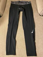 Men's Nike Pro Black Compression Running Tights 2XL