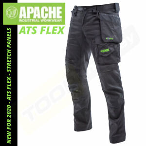 Apache ATS Flex Work Trousers - NEW 2020 Stretch Panels - Slim Fit - Holster