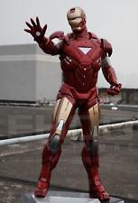 Life Size Iron Man Marvel Movie Prop Wax Statue Realistic Display Figure 1:1