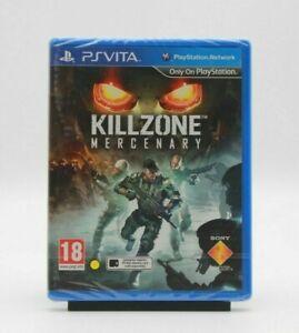 Killzone Mercenary Vita (2013) Factory Sealed Region Free w/ case protector