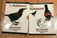 1997 New Zealand 5 Dollar Saddleback Uncirculated