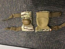 Alta tactical flex military elbow pads strap on memory foam d30 black 53010-d30